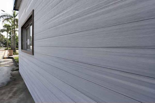 Fachada ventilada Deckron color Light Grey
